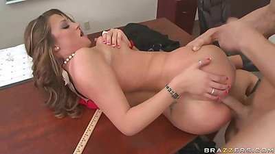 Teen gets natural tits very tightly squeezed