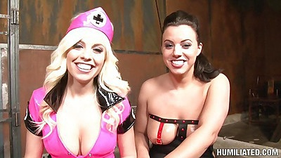 Nurse Britney Amber gets detained
