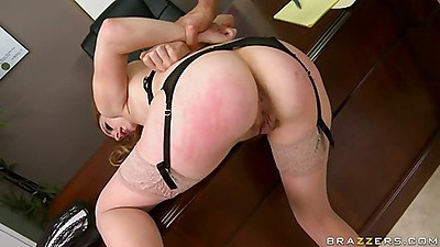 Rough sex fuck for Lexi doggy style
