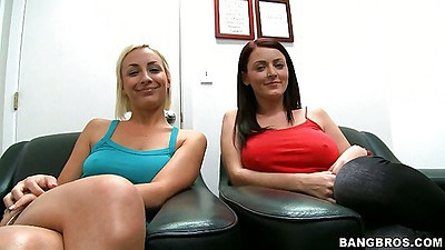 Blowjob fridays with Lexi Swallow and Sophie Dee