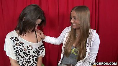 Missi Daniels Mercedes Lynn and Diamond Kitty outdoors