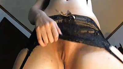 Teen gf Improper showing off her new lingerie and ass